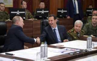 Кто охранял Путина во время недавнего визита в Сирию.