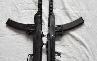 ППС-43-43 7,62-мм автомат (пистолет-пулемет) обр.1943. Москва 1955 год.