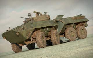БТР-90 Росток, модификации Бережок и Бахча, ТТХ бронетранспортера, толщина брони и вооружение, расход топлива и емкость бака