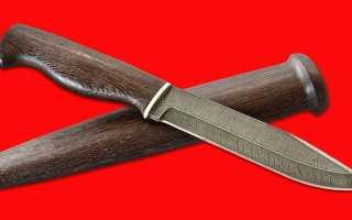 Дамасские ножи — лучшие по качеству стали, кухонные, стальные, охотничьи и в виде штыка, как точить заготовки ручной работы