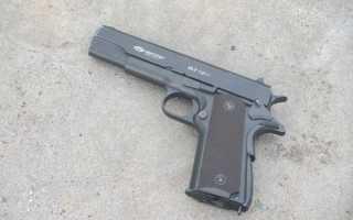 Обзор пневматического пистолета Colt 1911
