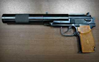 Краткое руководство службы «9-мм самозарядный пистолет для бесшумной и беспламенной стрельбы»