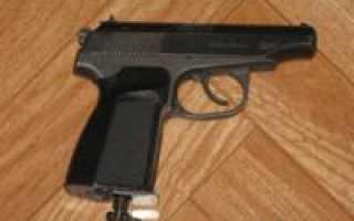Обзор пневматического пистолета МР-654К-32