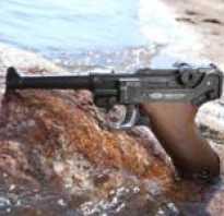 Обзор пневматического пистолета Парабеллум Люгер с подвижным затвором