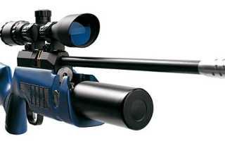 Мощная пневматическая винтовка