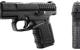 Обзор пневматических пистолетов Walther