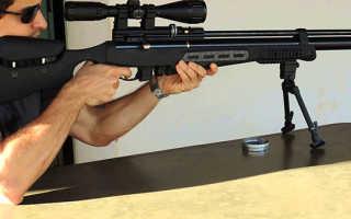 Обзор пневматической винтовки Hatsan BT65-RB Elite