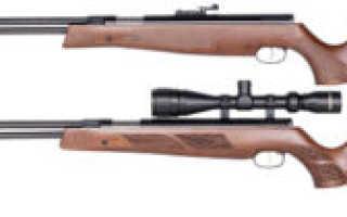 Пневматические винтовки «Weihrauch» с подствольным взводом