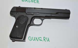 Шведский пистолет Хускварна М 1907 (Husqvarna M1907, M07)