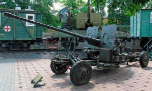 57-мм автоматическая пушка С-60. Детальные фото.
