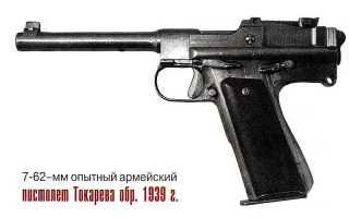 7,62 мм Пистолет системы Токарева обр. 1929 года