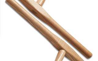 Тонфа, оружие окинавских крестьян, палка из дерева или резины, размеры дубинки, возникновение и применение, использование службами правопорядка
