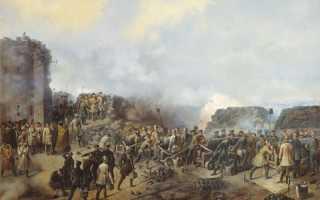 Оборона Севастополя во время Крымской войны 1853-1856 гг.