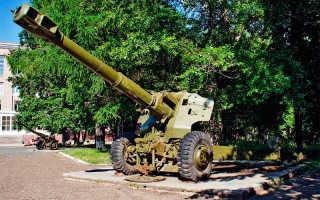 Фото: 152-мм гаубица Д-20