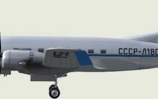 ИЛ 12 — советский пассажирский самолет, кабина и салон, правильные взлет и посадка, описание и ТТХ, срок эксплуатации