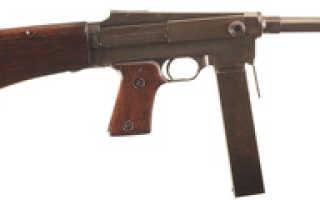 Пистолет — Пулемет МАС 38 (MAS Mle 38, Le pistolet mitrailleur de 7,65 mm modèle 1938)