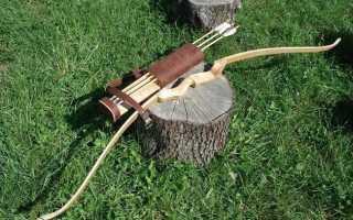 Самодельный лук для охоты и путешествий