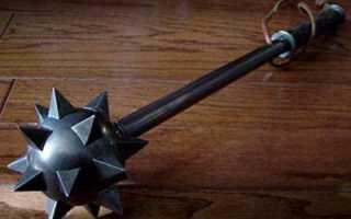 Булава оружие богатырей: виды упражнений, разновидности (на цепи, деревянные, железные, двуручные), как выглядит