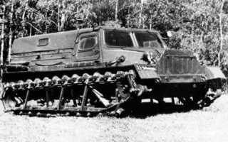 ГАЗ-47, технические характеристики гусеничного вездехода, использование ГТС для охоты и боевых действий, вес и грузоподъемность, скорость и двигатель