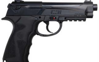 Самый мощный пневматический пистолет: обзор моделей, лицензия, видео, цены
