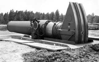 Самая большая пушка в мире, мортиры Второй Мировой войны, калибр орудия, Карл, Дора и Большая Берта