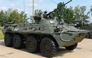 БТР 82А: описание и ТТХ, калибр пушки и толщина брони, история создания новейшего бронетранспортера, боевые задачи