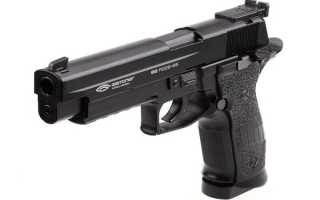 Пневматический пистолет Gletcher SS P226 S5: характеристики, устройство, разборка, фото и видео