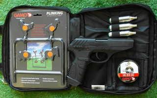 Gamo Killer Blowback — обзор пневматического пистолета, характеристики, комплектация, устройство, цена