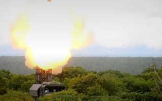 Появилось видео боевых стрельб комплекса «Бастион»