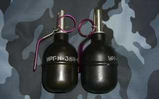 Наставление по стрелковому делу Ручные гранаты: РГ-42, РГД-5, Ф-1