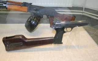 Автоматический Пистолет Калашникова / АПК Обзор, фото, видео, характеристики.