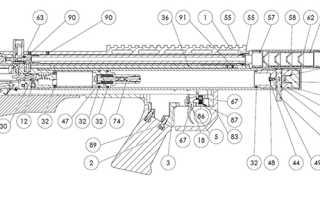 Пневматическая винтовка RAR VL 12: комплектация, устройство, разборка, ремонт, цена, отзывы