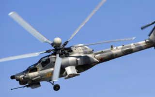 Российский боевой вертолет потерпел крушение в Сирии. Летчики погибли.