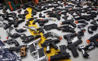 Детские пневматические пистолеты с пульками