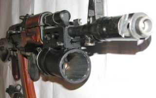 ГП-25 «Костер»-40-мм подствольный гранатомет: обзор, фото, видео, характеристики.