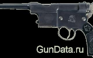 Пистолет Charola y Anitua 1897