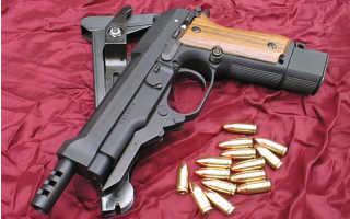 Пистолет Беретта 93Р (Beretta 93R)
