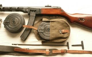ППШ-41 / Пистолет-пулемет Шпагина. Характеристики, обзор, фото, видео.