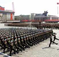 Армия КНДР, парад ВС, численность морского и подводного флотов, состав войск на 2017 год, каким оружием обладает