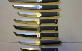 Танто, меч-нож, американский и японский виды, какие размеры и длина клинка, складная модификация, как появились, культурное значение