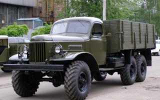 ЗИЛ-157, схема и технические характеристики самосвала, размеры кабины, карбюратор и колеса, проходимость по бездорожью и расход топлива