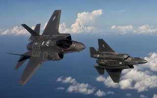 F-35 самолет США, описание и ТТХ, технологически новые решения, стоимость машины, конструктивные преимущества и недостатки