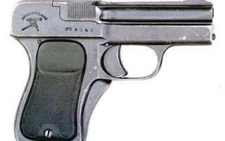 Пистолет Шварцлозе образца 1908 года (Schwarzlose 1908)