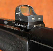 Коллиматорный прицел для пневматической винтовки