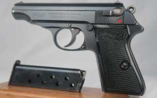 Немецкий пистолет Вальтер ПП, ППК, ППК/С (Walther PP, PPK, PPK/S, Walther PP Super)