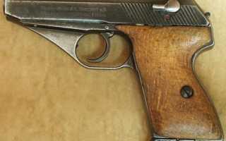 Пистолет Маузер ХСц (Mauser HSc)