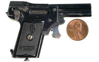 2.7 mm Kolibri Auto Pistol