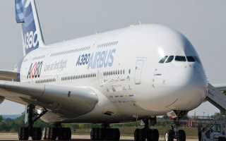Airbus a380: аэробус — самый большой самолёт, технические характеристики (ттх), вместимость салона, вес, размеры
