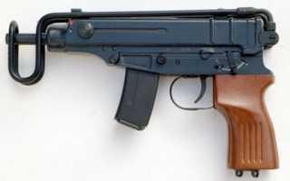 Пистолет — пулемет ЧЗ 61 Скорпион (CZ 61 Scorpion)