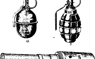 Руководство. Учебная противотанковая граната УПГ-8. 1959 г.